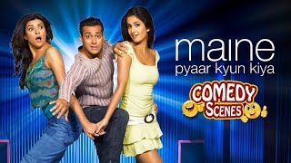 Best Comedy Compilation - Maine Pyaar Kyun Kiya - Salman Khan - Katrina - Hindi Comedy