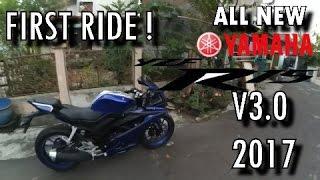 #82 - YAMAHA ALL NEW R15 V3.0 2017 First Ride !! | NUNDUK PARAH! | Motovlog Semarang