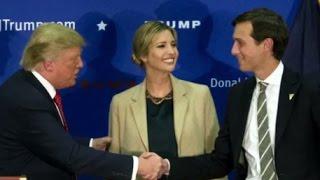Jared Kushner Selected as Trump Senior Adviser