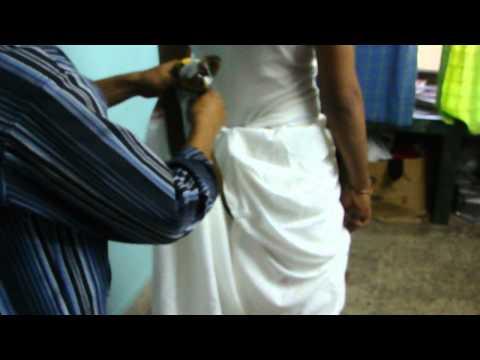How to wear a dhoti Kshatriya Style