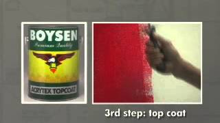 Painting It Easy With BOYSEN®: Acrytex™