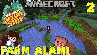 FARM ALAMI DEKET GUNUNG - Minecraft Indonesia : VIVA SMP 2 #2
