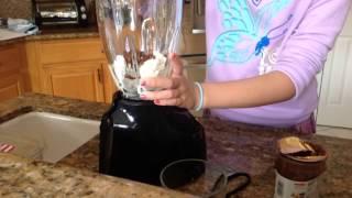 Homemade Nutella Milkshake