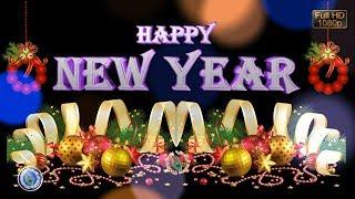 Happy New Year GIF, Best New Year Wishes, 2018 Whatsapp Status Video Download