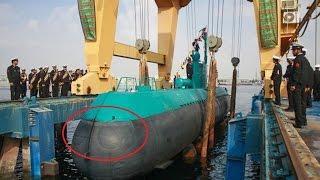 IRAN GHADIR submarine launched underwater Valfajr Torpedo