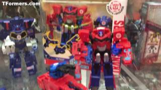 SDCC 2017 - Transformers RID & Rescue Bots Hasbro Booth Video