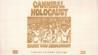 Cannibal Holocaust: Limited Extreme Edition Blu-ray Unboxing