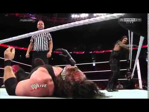 Xxx Mp4 Kane Vs Roman Reigns Last Man Standing Match 3gp Sex