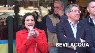 Genzano di Roma - 10 maggio 2016 - Marta Bevilacqua ('Sinistra per Genzano')
