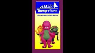 Barney & Friends: The Complete Third Season 1995 VHS (Tape 4) (FAKE)