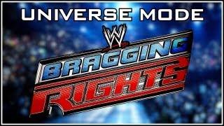 WWE Bragging Rights 2013 Full PPV - WWE 13 Universe Mode (RAW vs Smackdown vs ECW)