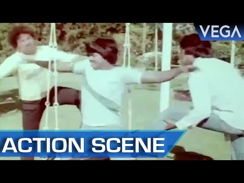 Murali Fight With Men || Kalamellam Un Madiyil Tamil Movie || Action Scene