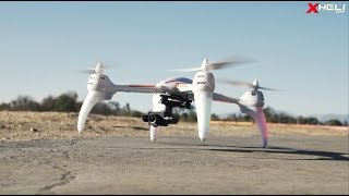 WL Toys Dragonfly Q696A Quadcopter w/ FPV 1080p 2-Axis Gimbal Camera