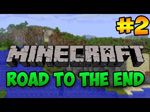 FIXING OUR HOUSE! Minecraft: Road to The End Ep. 2