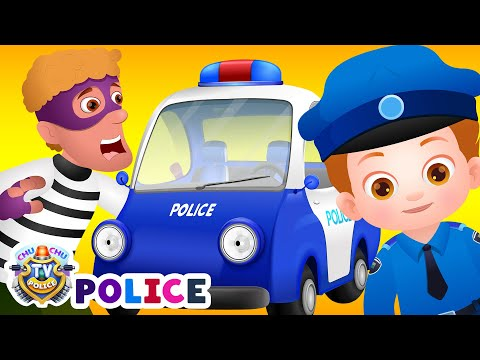 Xxx Mp4 ChuChu TV Police Chase Thief In Police Car Save Huge Surprise Egg Toys Gifts From Creepy Ghosts 3gp Sex
