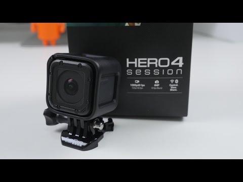 GoPro Hero 4 Session UNBOXING and SETUP