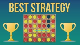 The Best Strategy To Win At Connect 4! (Odd Even Strategy)