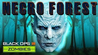 BLACK OPS 3 ZOMBIES NECRO FOREST MAP