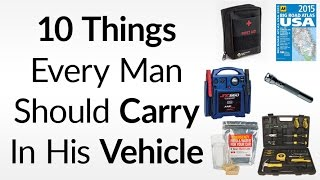 10 Things To Carry In Your Vehicle   Essential Emergency Items For Your Car Truck or Motorcycle