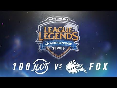Xxx Mp4 100 Vs FOX Week 9 Day 2 NA LCS Spring Split 100 Thieves Vs Echo Fox 2018 Tiebreaker 3gp Sex