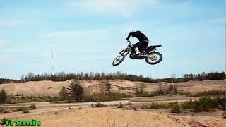 Kawasaki KX250 Old Jump Clips