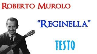 Roberto Murolo - Reginella | TESTO  HD