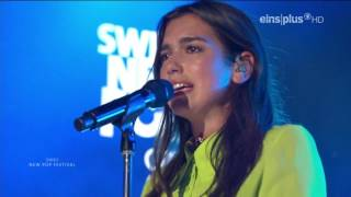Dua Lipa - Genesis / live at SWR 3 New Pop Festival