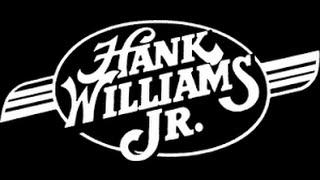 Hank Williams Jr - All My Rowdy Friends (Have Settled Down) Lyrics on screen