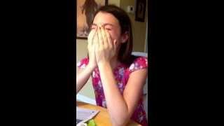Selena Gomez surprise!! Precious reaction