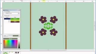 Singer XL-400 Futura Embroidery Machine Software Demo
