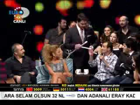 Beyaz Show Helyum Hadise Ersin Korkut ve Y Erdogan