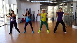 ZUMBA Jumping Heidy y Armando by HONDURAS DANCE CREW