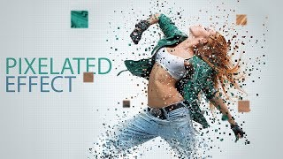 Pixelated Effect: Photoshop Tutorial