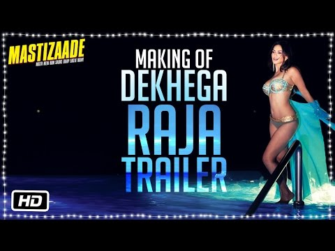 Making of Dekhega Raja Trailer   Sunny Leone, Tusshar Kapoor and Vir Das