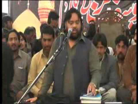 Shoukat Raza Shoukat 26 Feb 2017 jalsa Allama Karamat Abbas Haideri at Lahore