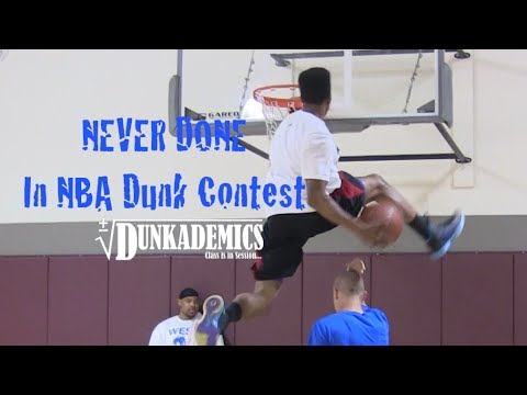 36 Dunks NEVER Done in the