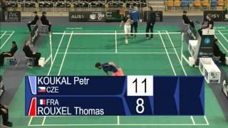 Petr Koukal vs Thomas Rouxel (MS, R32) - Orleans Intl. 2016