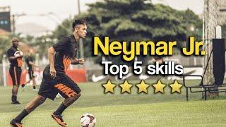 Neymar Jr. Top 5 Skills & Tricks 2018