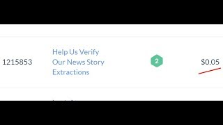 1215853 Help Us Verify Our News Story Extractions $0.05