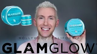 GLAMGLOW THIRSTYMUD HYDRATING TREATMENT REVIEW | FACE MASK TRY-ON + DEMO