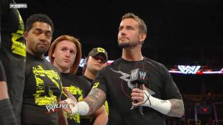 CM Punk and Wade Barrett and nexus Segment [HD]