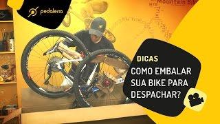 Pedaleria - Como embalar uma bike na caixa antes de despachar.