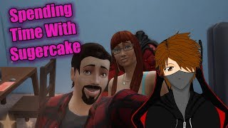 Let's Play The Sims 4 Get Famous EP56 Spending time with sugercake