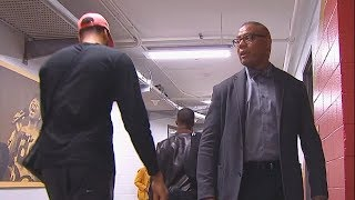 Anthony Davis Leaves Pelicans Arena After Injury During The Game! Thunder vs Pelicans