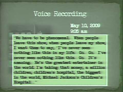 A voz de Michael Jackson