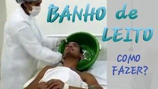 BANHO DE LEITO - COMO PROCEDER - AULA PRÁTICA