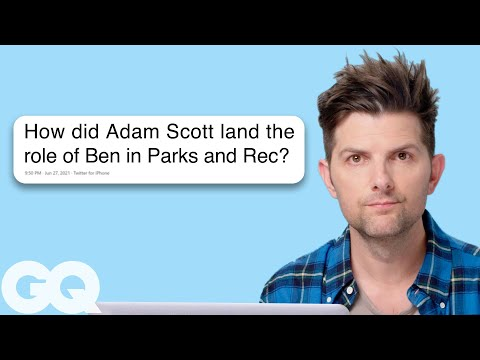Adam Scott Goes Undercover on Reddit Instagram and Twitter Actually Me GQ