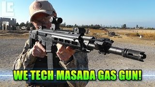 WE MSK Gas Blow Back Rifle - Masada, ACR, ACW-R, GBBR (SC Village Airsoft Gameplay/Commentary)