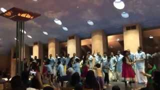 Tina's mylanchi dance