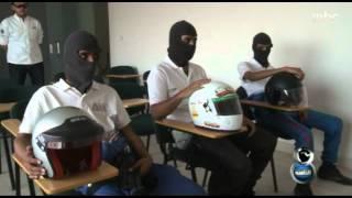 #MBC8PM - Report - عمر النشوان يرافق مفحطين إلى حلبة الريم
